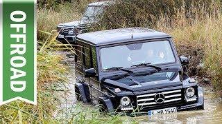 Offroad mit der G-Klasse: Mercedes Benz Driving Event & Bridgestone