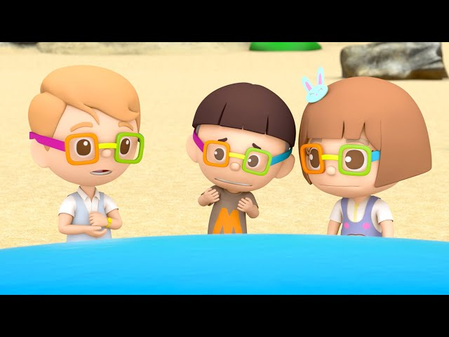 第十七集「救救小鯨魚」—【咚咚仔3D動畫系列】第二季