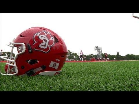 USD Opens Fall Football Camp