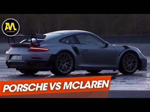 Duel : la Porsche 911 GT2 RS défie la McLaren 720 S