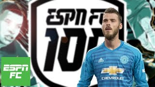 Best goalkeepers of 2018: Does De Gea deserve top spot?   ESPN FC 100
