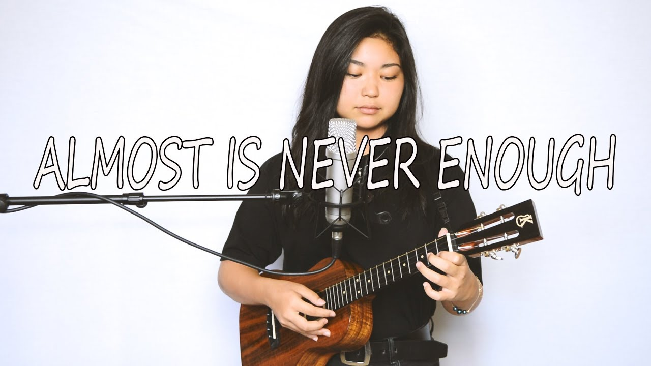 Ariana Grande   Almost Is Never Enough ukulele cover