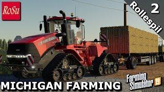 Farming Simulator 2019 MICHIGAN FARMING Rollespil #2