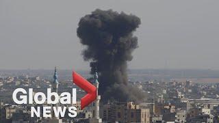 Israel, Hamas intensify retaliatory rocket attacks as death toll rises
