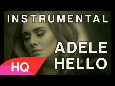 Adele - Hello - Karaoke HQ with Backing vocals