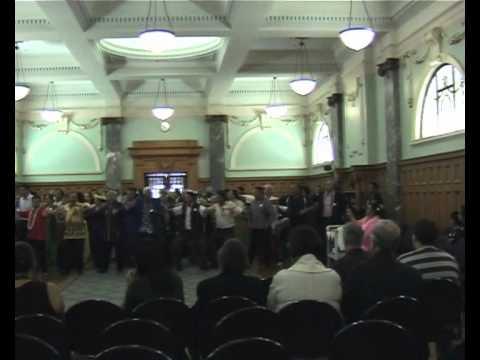 Tokelau celebration for Kris Faafoi - its 1st Member of Parliament.wmv