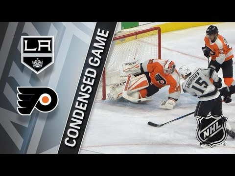 Los Angeles Kings vs Philadelphia Flyers – Dec. 18, 2017 | Game Highlights | NHL 2017/18.Обзор матча