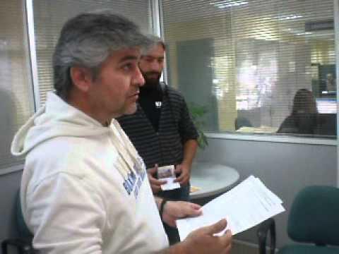kozan.gr: Κινητοποίηση στα γραφεία του ΟΑΕΔ του  ΠΑΜΕ Κοζάνης