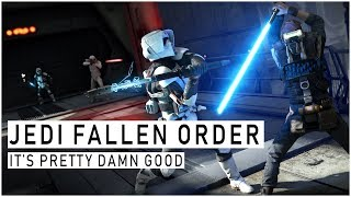 I played JEDI FALLEN ORDER... it's way better than I expected -- New Info and My Impressions