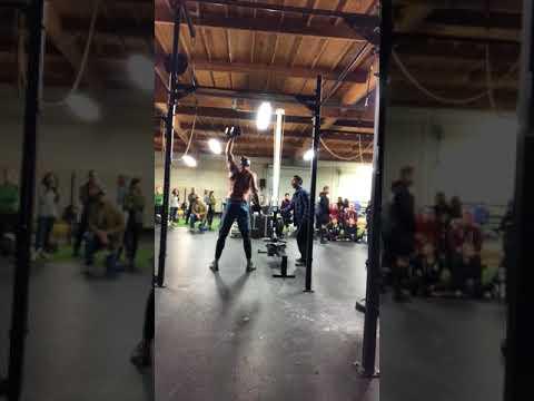 Josh miller Crossfit open 18.1 take 1