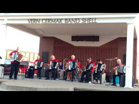 The Dakota Keys at Vern Cermak Band Shell