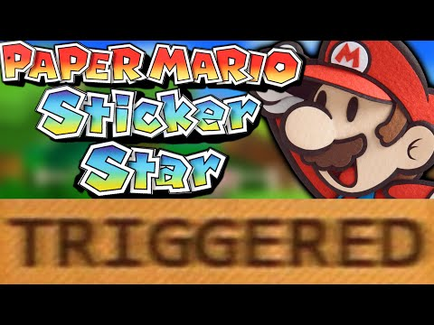 How Paper Mario Sticker Star TRIGGERS You!