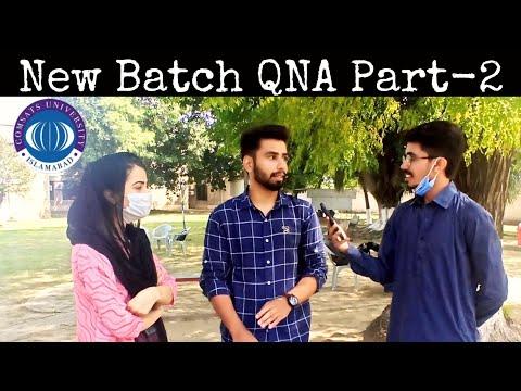 NEW BATCH | QNA PART-2 | COMSATS UNIVERSITY ISLAMABAD WAH CAMPUS