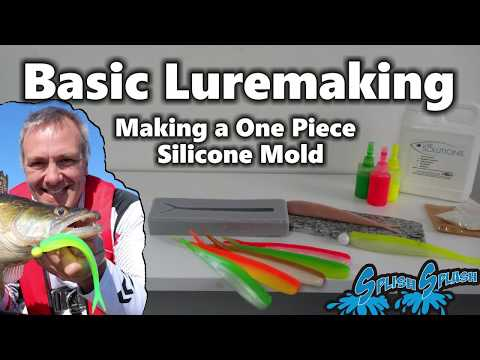 Basic Luremaking - Making A  One Piece Silicone Mold