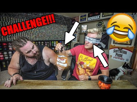 BLINDfolded Chewing Tobacco TASTE TEST!!!