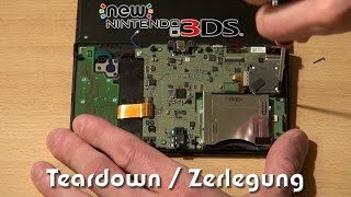 New Nintendo 3DS aufscнrauben / Teardown / Disassembly Tutorial & Reassembly