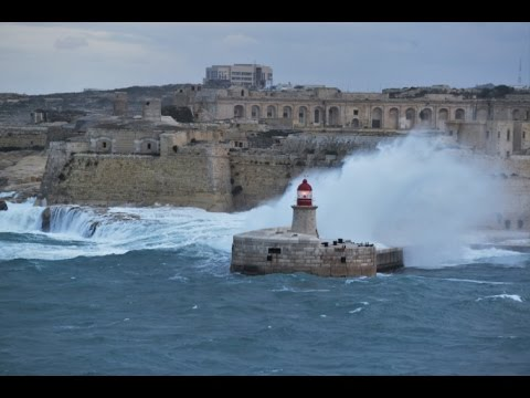 Gregale Bad Weather over Malta - Saturday 29 Oct  2016