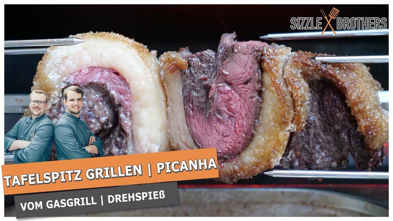 Drehspieß Für Gasgrill Jamie Oliver : ❗tafelspitz grillen❗ picanha vom gasgrill mit drehspieß youtube