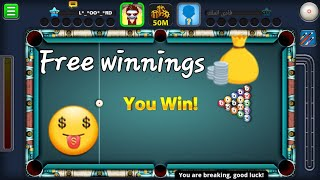 8 Ball Pool | 7 Golden ways to win directly 🤔🤔| Without Root or Jailbreak(الفوز التلقائي)