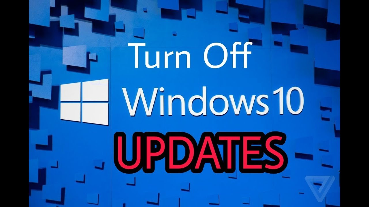how to turn off windows updates permanently in windows 10