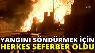 Şanlıurfa'daki Büyük Yangın Söndürüldü
