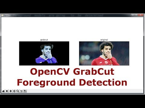 Python OpenCV Grabcut Image Foreground Detection - YouTube