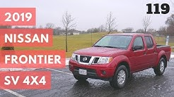 2019 Nissan Frontier SV Crew Cab SV V6 4x4 | full review and test drive