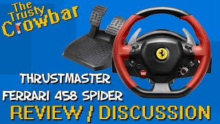 Thrustmaster Ferrari 458 Spider Racing Wheel   REVIEW / DISCUSSION - works with Project Cars