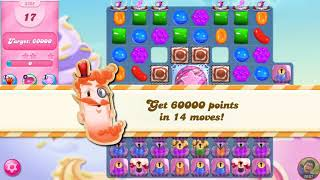 Candy Crush Saga 3365 First Try Gold Level Last Level 16MAY2018