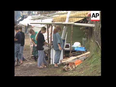 CROATIA: BOSNIAN MUSLIM REFUGEES LATEST SITUATION