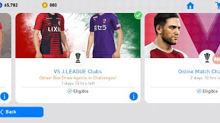 Cleared VS J League Clubs Event PES 2019 Mobile Get Black Ball From Reward