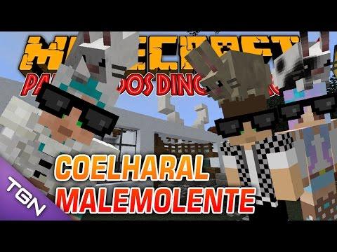 Minecraft Parque dos Dinossauros II :: Ep 31 :: COELHARAL MALEMOLENTE