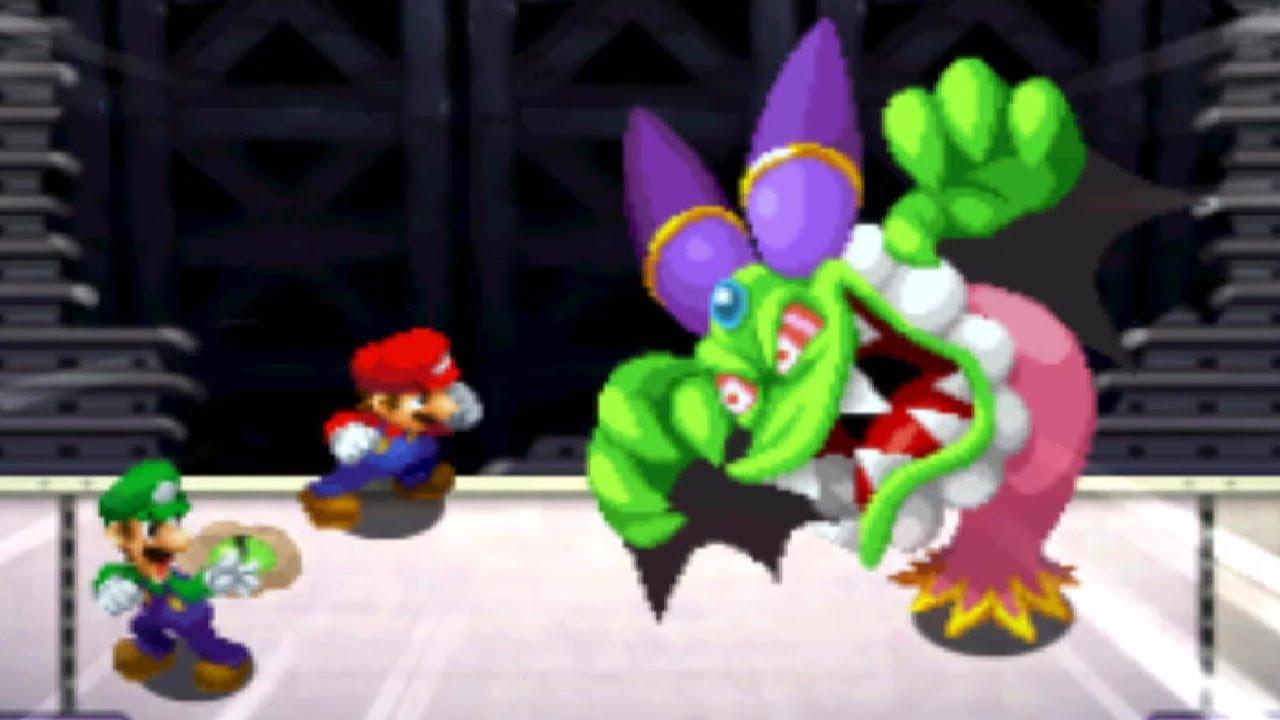 Mario and Luigi: Superstar Saga 3DS - All Bosses