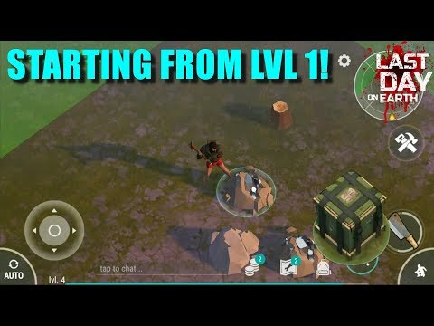 Starting Again From Lvl 1 (Last Day On Earth: Survival)