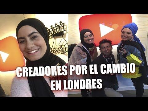 Vlog  VOY A LONDRES AL EVENTO DE CREATORS FOR CHANGE YOUTUBE  ramiaschannel