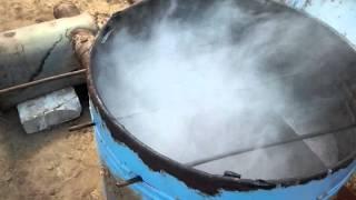 Коптильня холодного копчения!!!(Коптильня собрана за 30 минут в качестве бочки была использована старая стиральная машинка, немного глины..., 2015-06-08T20:08:19.000Z)