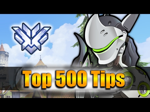 How GRANDMASTER Players DESTROY with Genji - Overwatch Top 500 PRO Tricks | Shadder2k