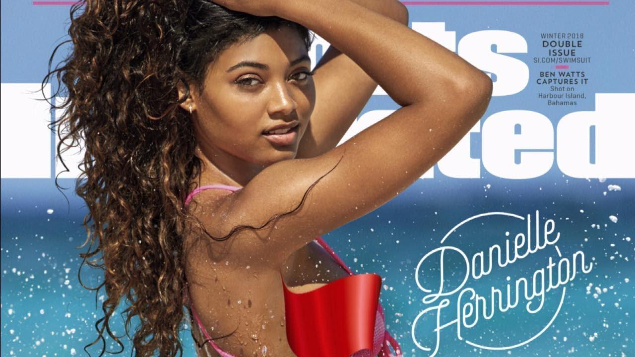 d80b20d258 Model Danielle Herrington Is 2018 Sports Illustrated Swimsuit Cover Girl