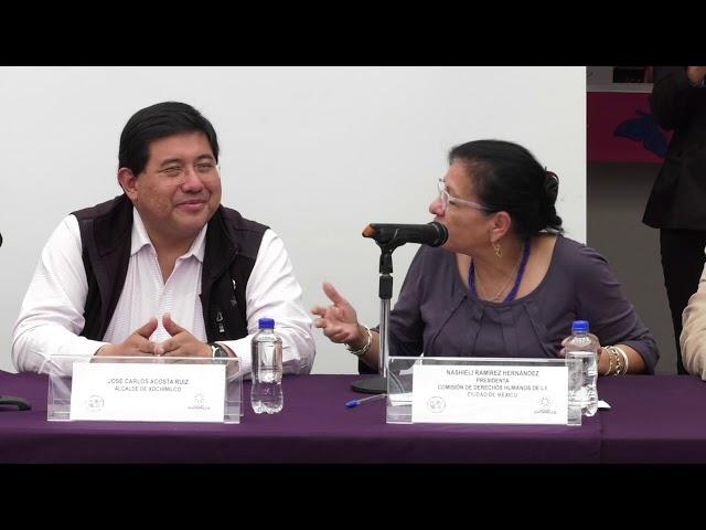 Firma convenio con Alcalde de Xochimilco e inauguración de la tercera Delegación