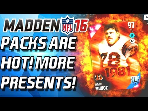 REGGIE WHITE! PACKS ARE HOT! MORE GIFTS! - Madden 16 Ultimate Team