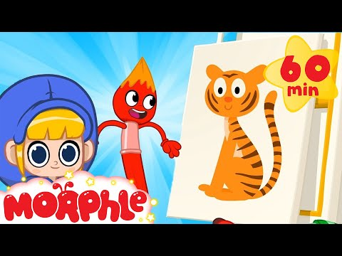 Learn Colors - Morphle And Mila | Cartoons For Kids | Learning Videos | Morphle TV