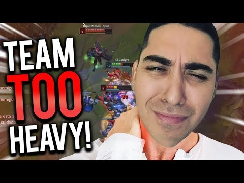 JOHN DYR TOP VS VLAD | ALMOST BROKE MY BACK TRYING TO CARRY THIS TEAM! - Trick2G