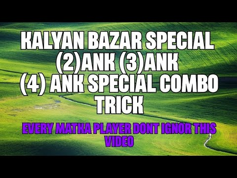 Repeat 2  Ank oTc Trick Life Time Trick /Only for Kalyan by
