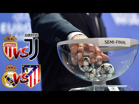 SEMIFINALI SUPER! MONACO-JUVENTUS | REAL MADRID-ATLETICO