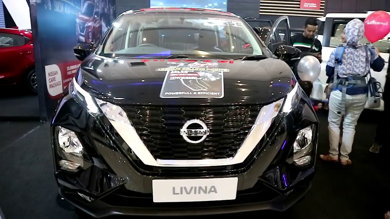 New Nissan Livina 2019 ,Black Colour ,Exterior And