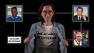 Llega Iván Duque, Santos se va, Argentina dice no al aborto y más - Me Acabo de Enterar