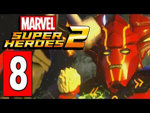 LEGO Marvel Super Heroes 2 Walkthrough Part 8 SURTUR BOSS BATTLE / ASGARD