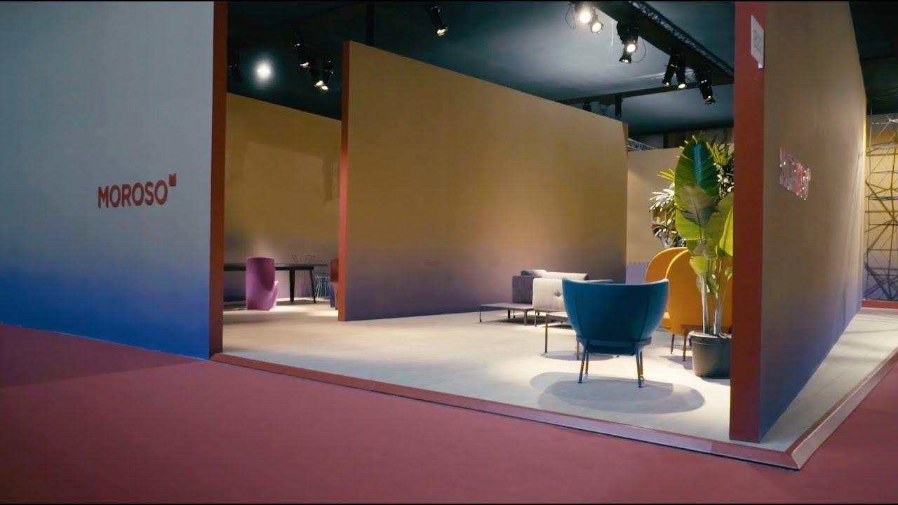 moroso stand salone del mobile 2018 youtube