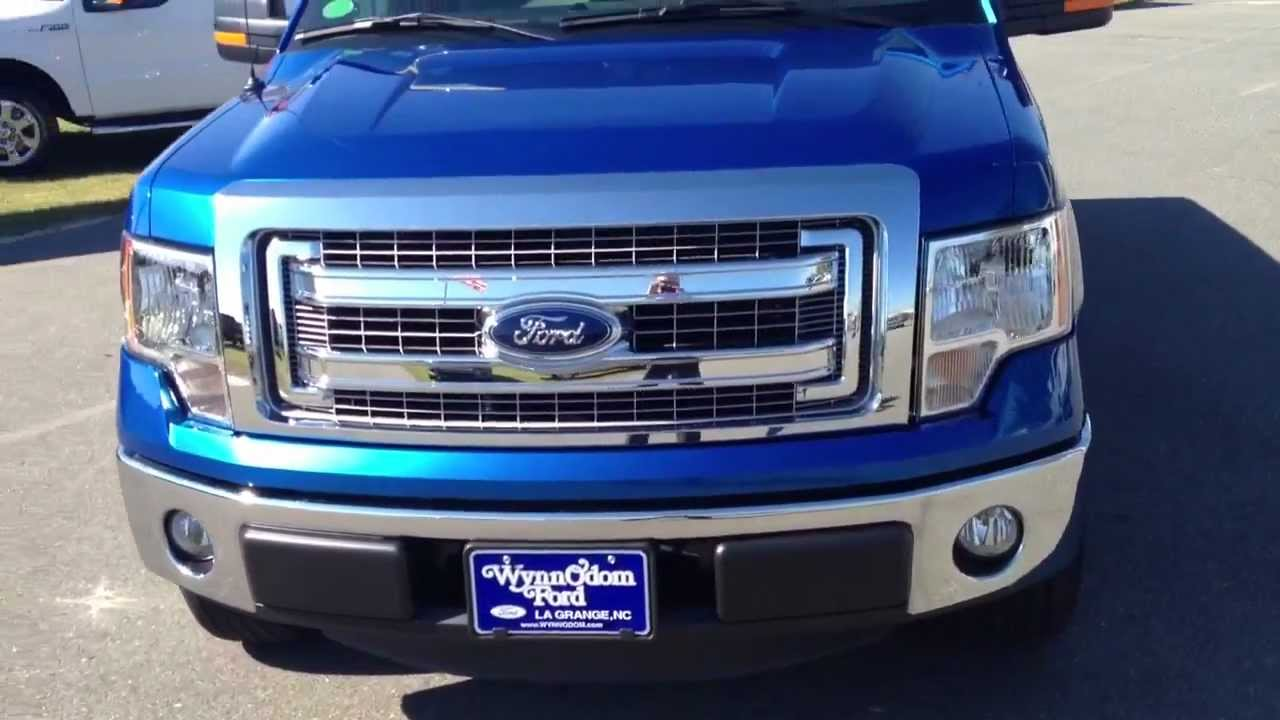 2013 Ford F150 Supercab >> NEW 2013 Ford F-150 SuperCab XLT Blue Flame - YouTube