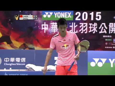Yonex Open Chinese Taipei 2015 | Badminton F M4-MD | Fu/Zhang vs Fernaldi/Sukamuljo